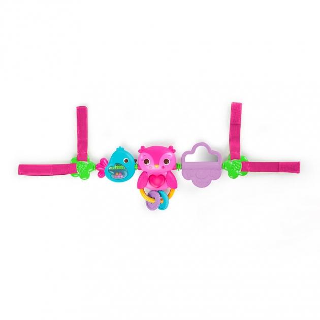 Развивающая игрушка Bright Starts для коляски Совушка 52159